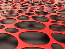 Structural mesh organic background Stock Images