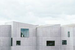 Structural Photography of Gray Concrete Building Royalty Free Stock Images