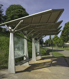 Structural Steel Bus Stop Stock Images