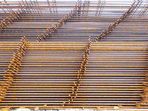 Structural steel in construction. Royalty Free Stock Photography
