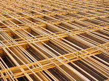 Structural steel in construction. Stock Photo
