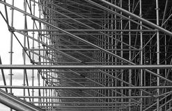 Structural steel framework Stock Photo