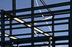 Structural steelwork royalty free stock images