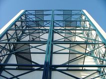 Structure. Metal structure Stock Photography