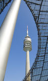 Structure 3. The Olympics stadium in Munich Stock Photos