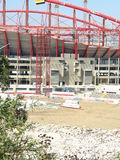 Structure. Building of a new stadium for the Benfica, Lisbon, Portugal, EU, for Euro 2004 Stock Images