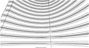 Structure abstraite de wireframe du bâtiment 3D Construction d'illustration Illustration Stock