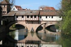 Structure antique de Nurnberg ou de Nuremberg Image libre de droits