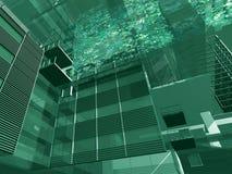 Structure architecturale illustration de vecteur