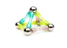 Structure of the atom Stock Photography
