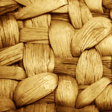 Structure of a bamboo basket stock photos