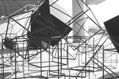 Structure, Black And White, Architecture, Monochrome Photography stock image