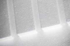 Structure blanche abstraite de polystyrène photos stock
