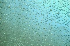 Structure bleue des bulles Images stock