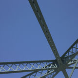 Structure of a bridge Stock Image