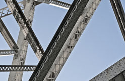 Structure of a bridge Royalty Free Stock Image