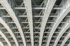 Structure of Brooklyn Bridge Stock Photography