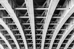 Structure of Brooklyn Bridge Stock Photos