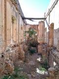 "Structure buiding de ""Cuartel de Villa "" photo stock"
