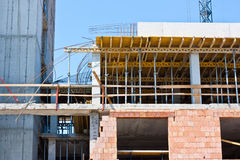 Structure of buildings Royalty Free Stock Image