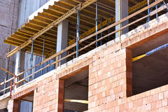 Structure of buildings Royalty Free Stock Photo