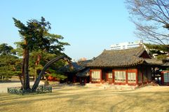 Structure In Changgyeonggung Palace Stock Images