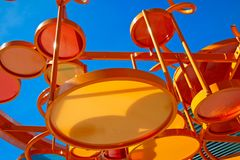 Structure at the children's playground. Stock Photos