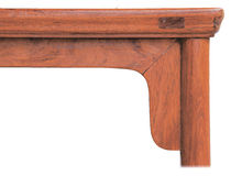 Structure of chinese  classical  furniture Stock Photography
