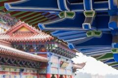 Structure chinoise de mortaise et de tenon Image libre de droits