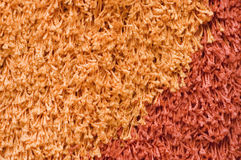 Structure of a colour beautiful carpet Royalty Free Stock Photos