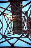 Structure complexe abandonnée Image libre de droits