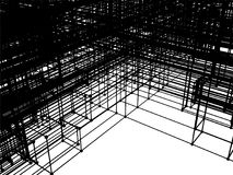 Structure Construction In Development Vector Stock Image