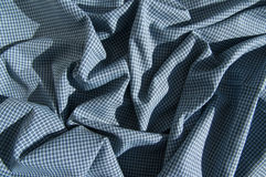 Structure of cotton fabric Royalty Free Stock Photography