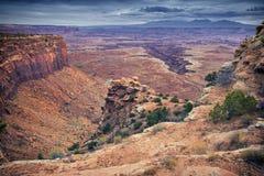 Structure d'érosion de parc national de Canyonlands image stock