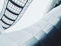 Structure d'acier inoxydable de fil et de tube Photographie stock