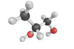 structure 3d de propylèneglycol, un composé organique synthétique Photos stock