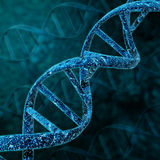 Structure d'hélice d'ADN illustration de vecteur