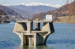 Structure d'usine hydro-électrique Photo libre de droits