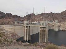 Structure de barrage de Hoover images stock
