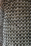 Structure de Chainmail Photo stock