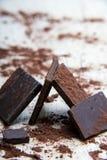 Structure de chocolat Images libres de droits