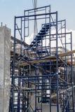 Structure de construction de bâtiments Photos stock