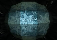 Structure de glace Images libres de droits