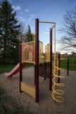 Structure de jeu au parc public Image stock