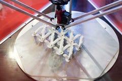 Structure de l'impression 3D Photographie stock libre de droits
