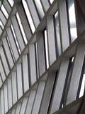 Structure de la construction dans l'aéroport, Thaïlande Image libre de droits