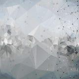 Structure de molécule, fond pour la communication, illustration libre de droits