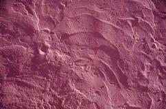 Structure de mur colorée par rose Images libres de droits