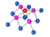 Structure de réseau Images stock