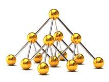 Structure de réseau Image stock